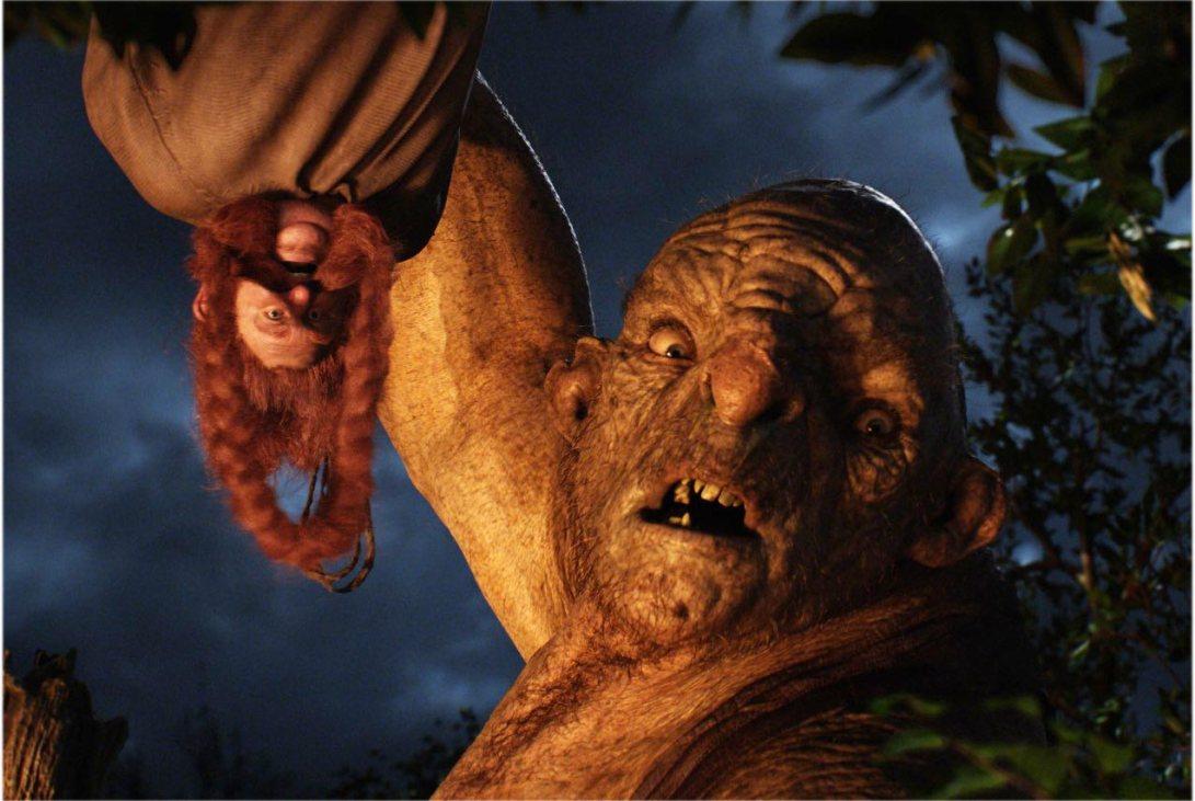 Los trolls ya hicieron su pétreo cameo en El Señor de los Anillos.