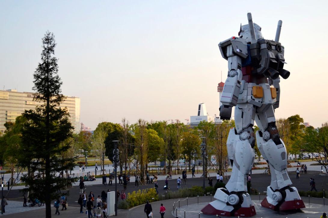 Guia viaje Japon Tokio Odaiba Gundam