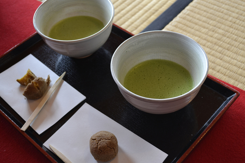 Guía viaje japón, té, matcha