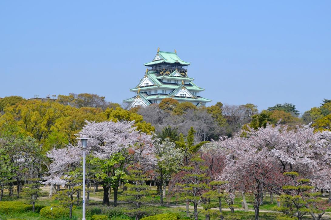 Guia viaje Japon Osaka-jo