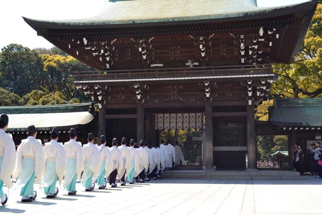 Guía viaje japón, tokyo, santuario meiji