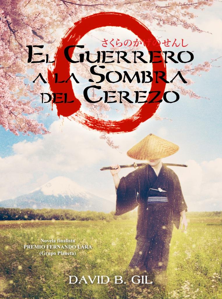 El Guerrero a la Sombra del Cerezo (portada Carolina Bensler)