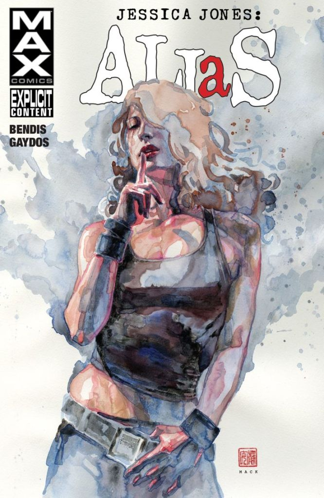 Alias Jessica Jones Cover