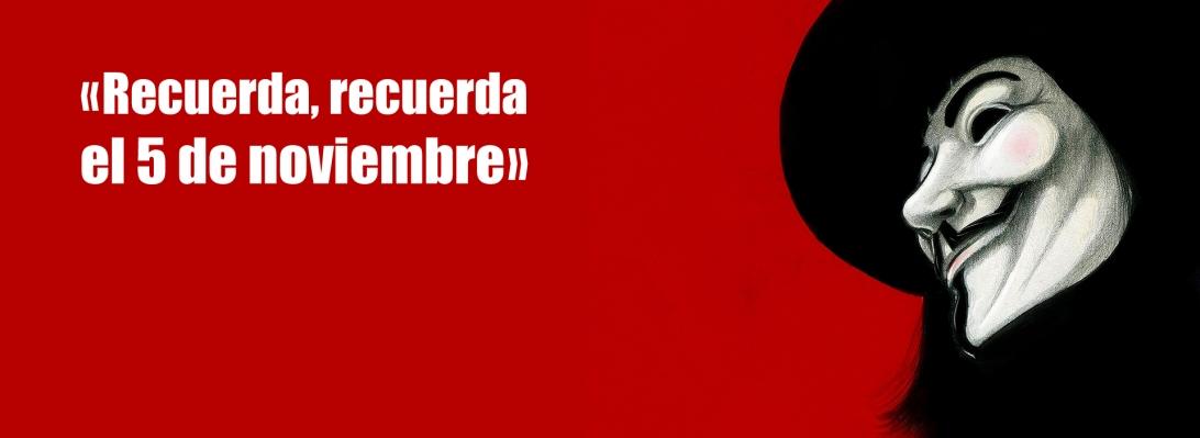 V de Vendeta banner
